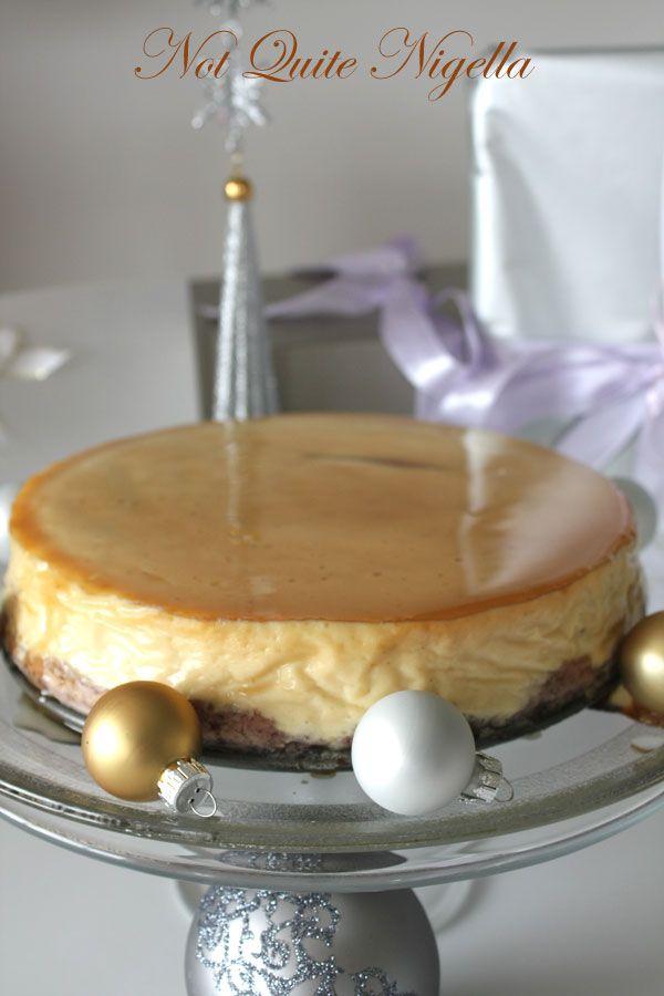 Gleaming Maple Cheesecake