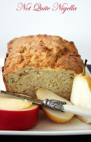 Gloucestershire Pear & Cheddar Cake