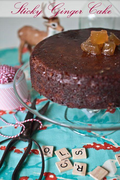 Sticky Ginger Cake Recipe Nigella