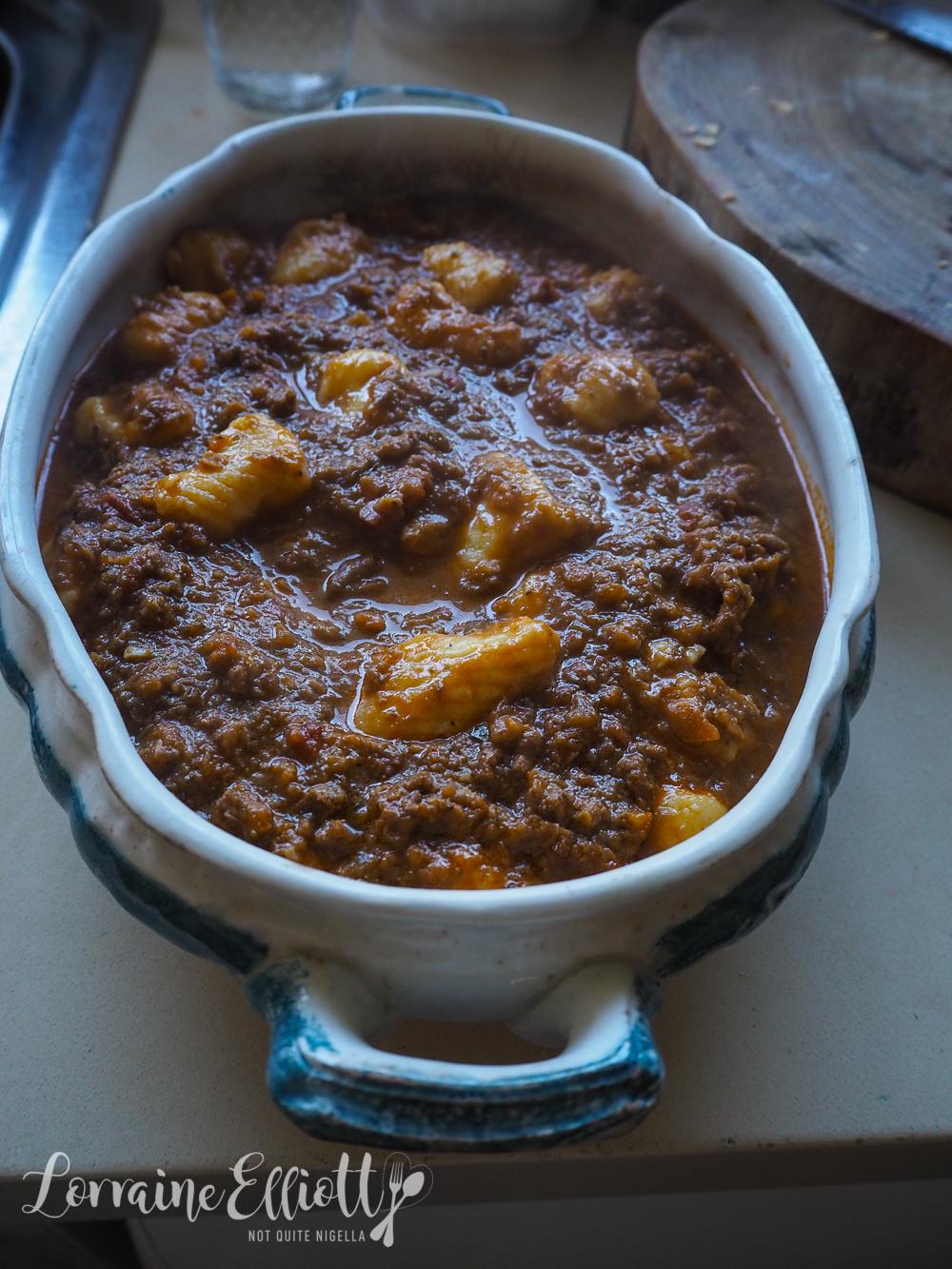 Gnocchi Bolognese Bake
