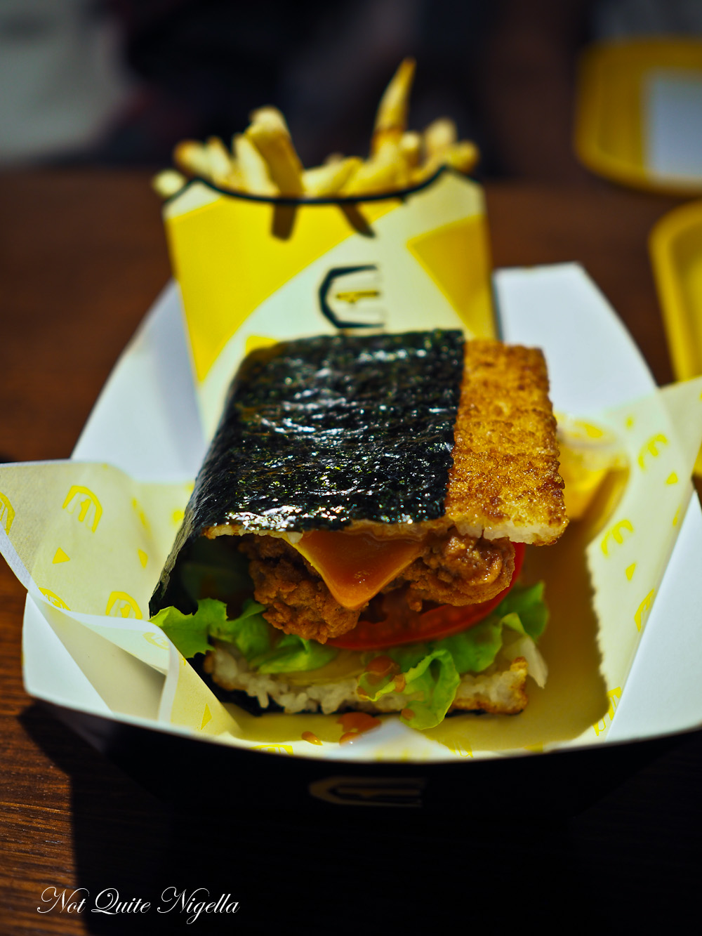 Gojima Pyrmont Rice Burgers