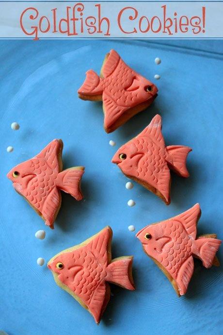 goldfish cookies 1