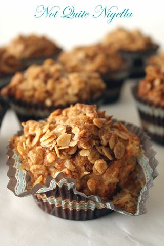 Good-for-you Apple Streusel Muffins