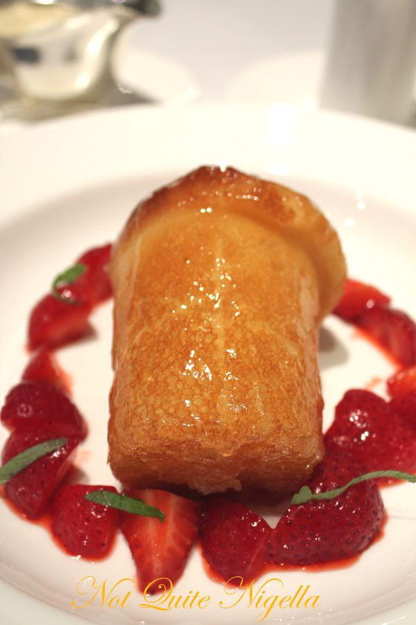 Gordon Ramsay Royal Hospital Road rum baba
