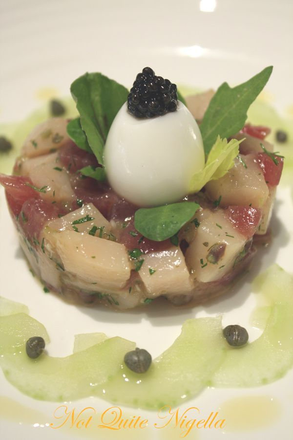 Gordon Ramsay Royal Hospital Road Tuna swordfish tartar