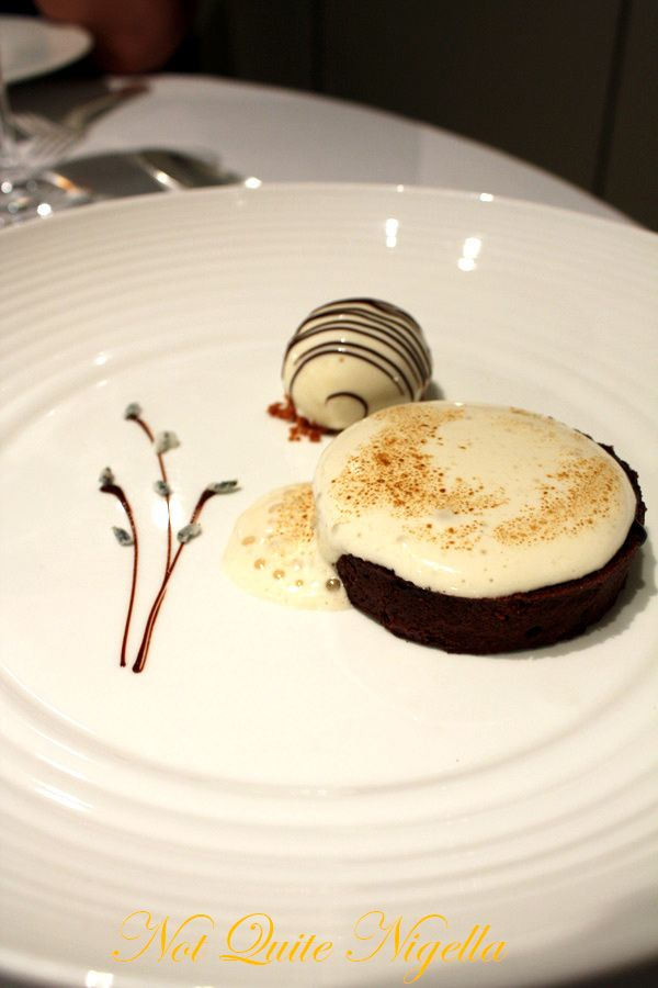 Gordon Ramsay Royal Hospital Road Chocolate lavender tart