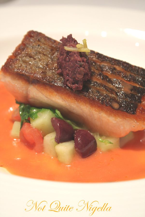 Gordon Ramsay Royal Hospital Road Confit of salmon