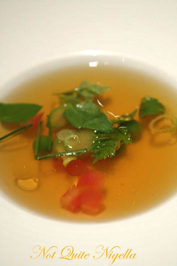 Gordon Ramsay Royal Hospital Road tomato consomme