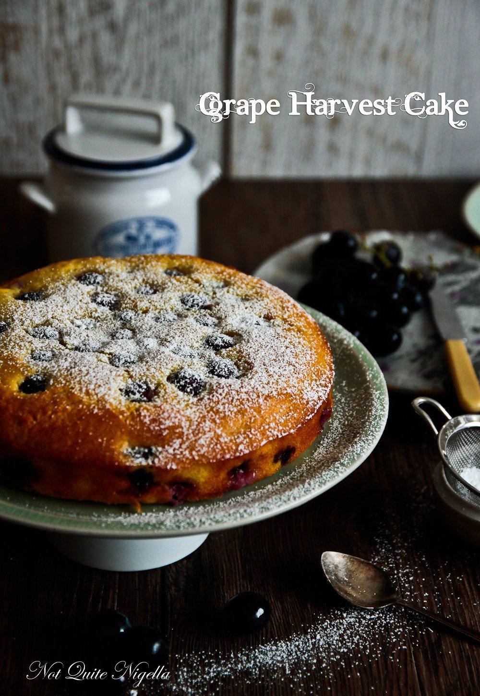 Grape Harvest Cake