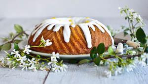 Persephone, The Zingy Grapefruit Yogurt Cake