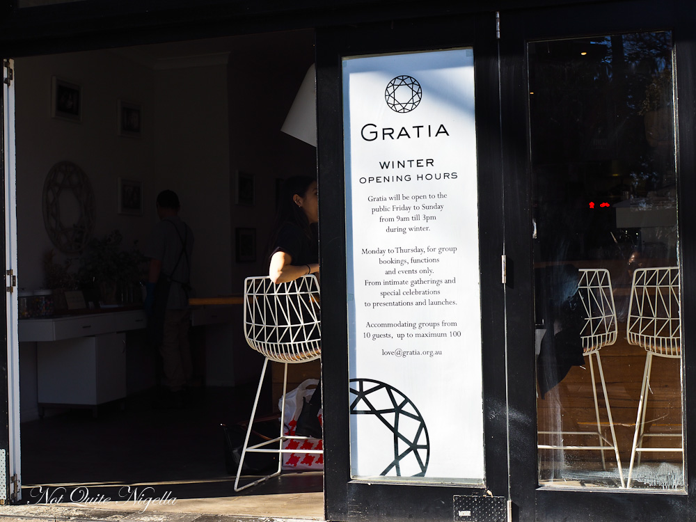 Gratia Cafe Surry Hills