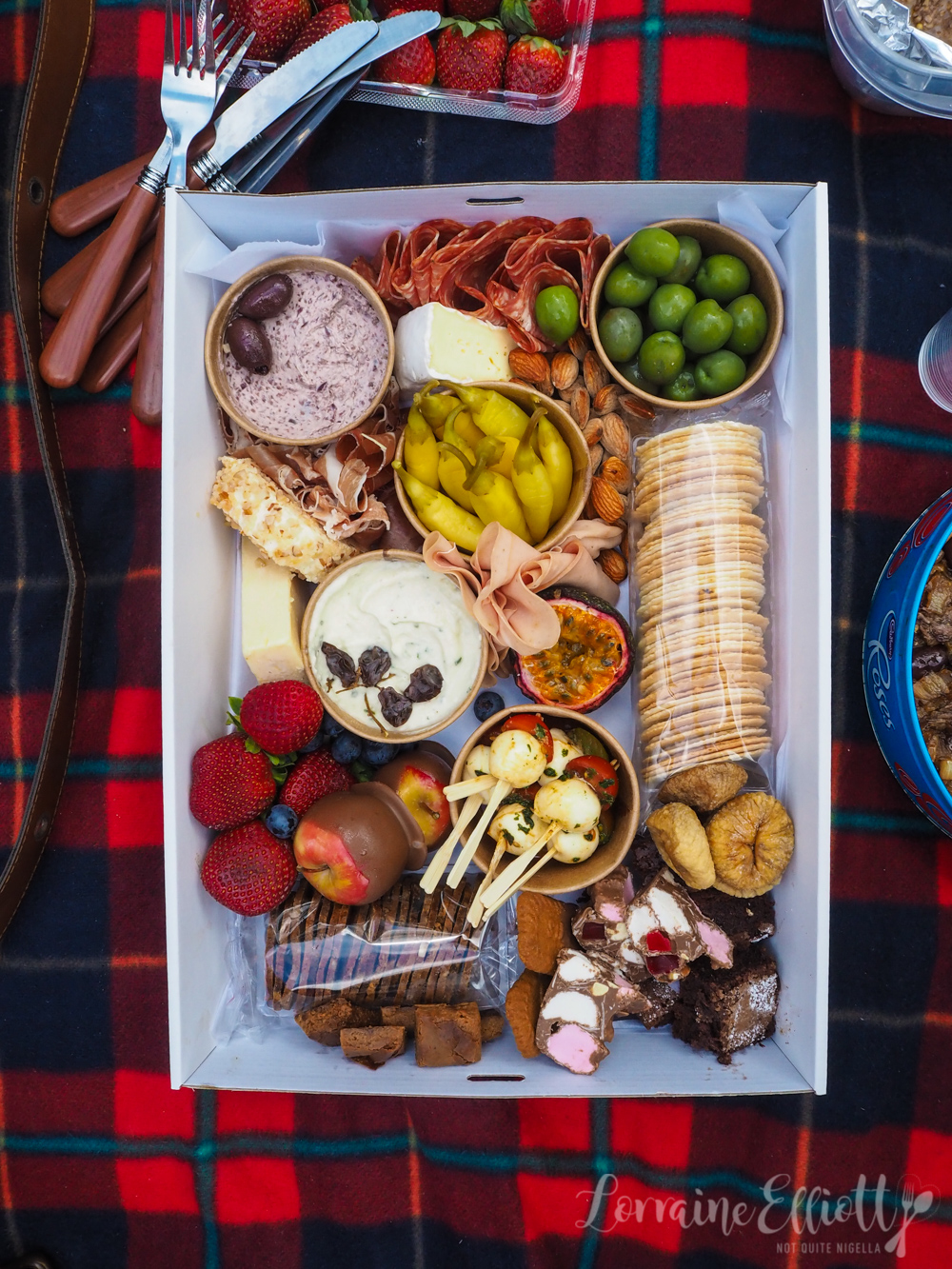 Graze With Cheese and Chocolate Picnic Boxes