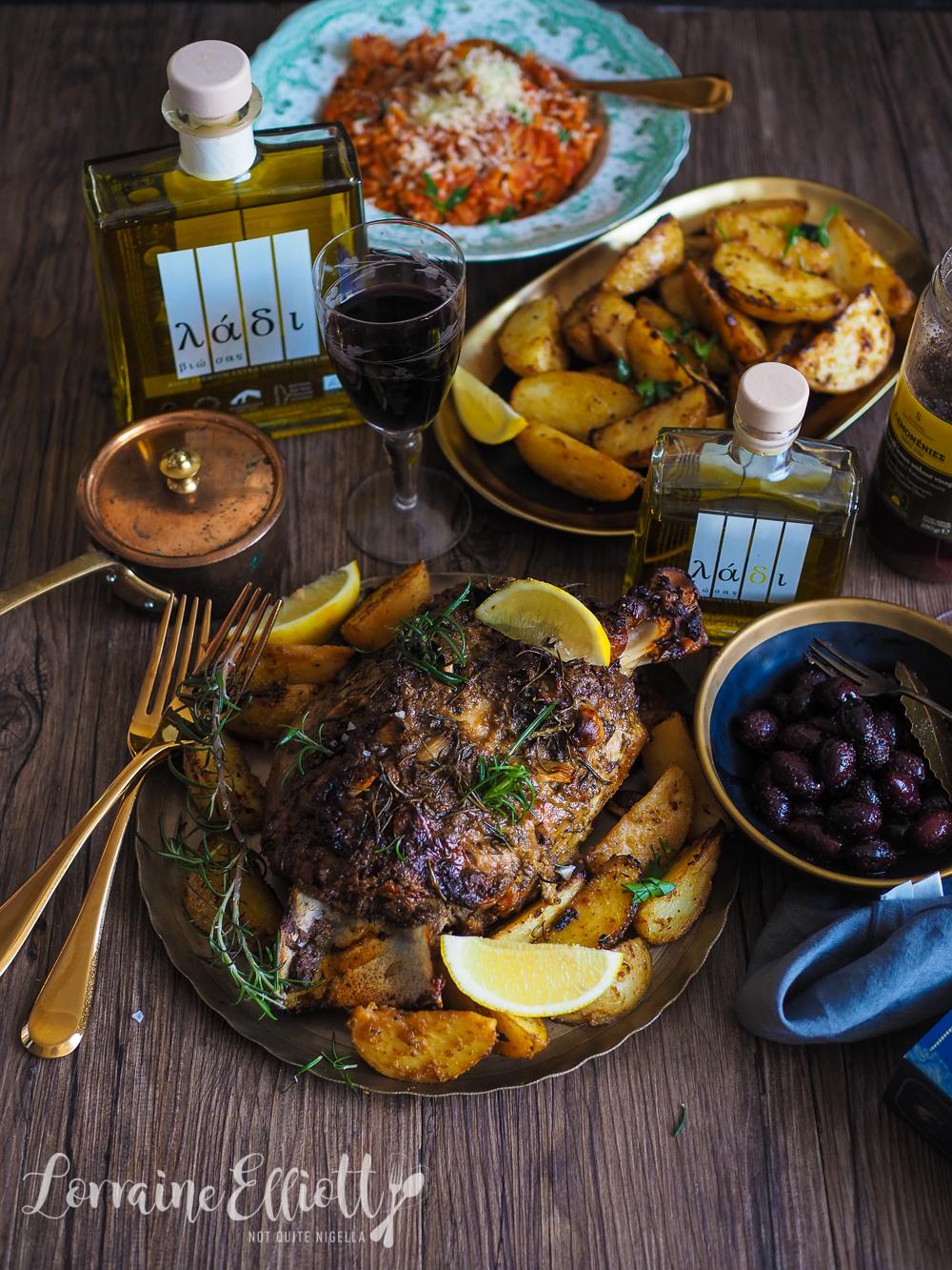 Greek Lamb & Lemon Potatoes