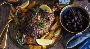 DIVINE Greek Lamb & Lemon Potatoes