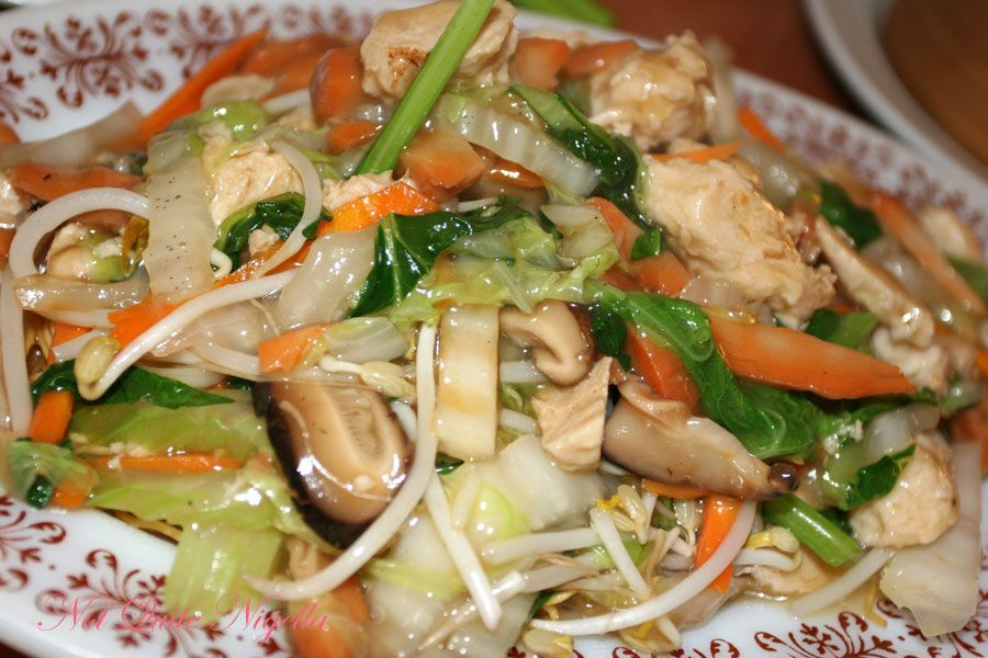 Green Gourmet Vegan at St Leonards Three Treasures Chow Mein