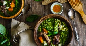 Greens With Envy: Green Minestrone