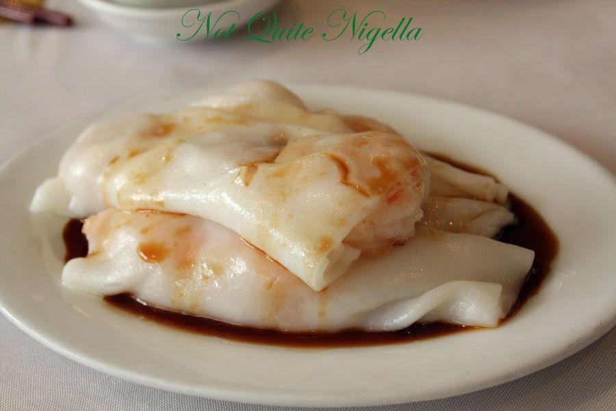 Greenwood Chinese restaurant Prawn rice rolls