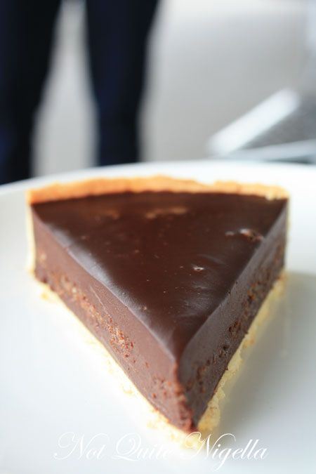 french banker, greytown, new zealand, moise cerson, chocolate  tart