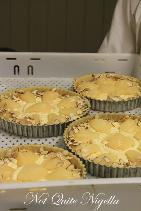 french banker, greytown, new zealand, moise cerson pear frangipane  tart