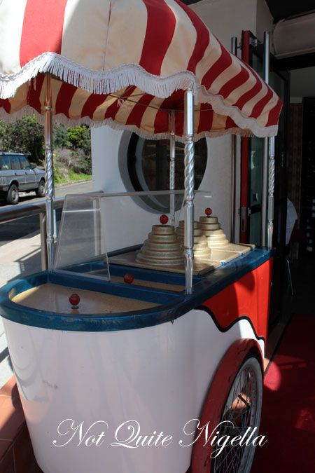 gusto watsons bay icecream cart