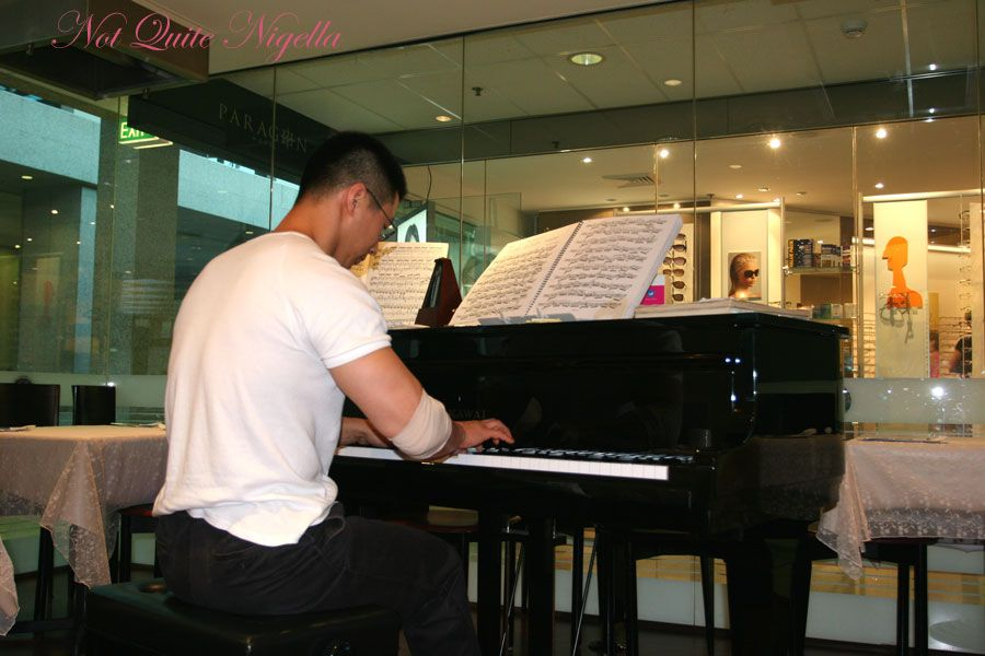 Haemil Korean at Circular Quay Piano