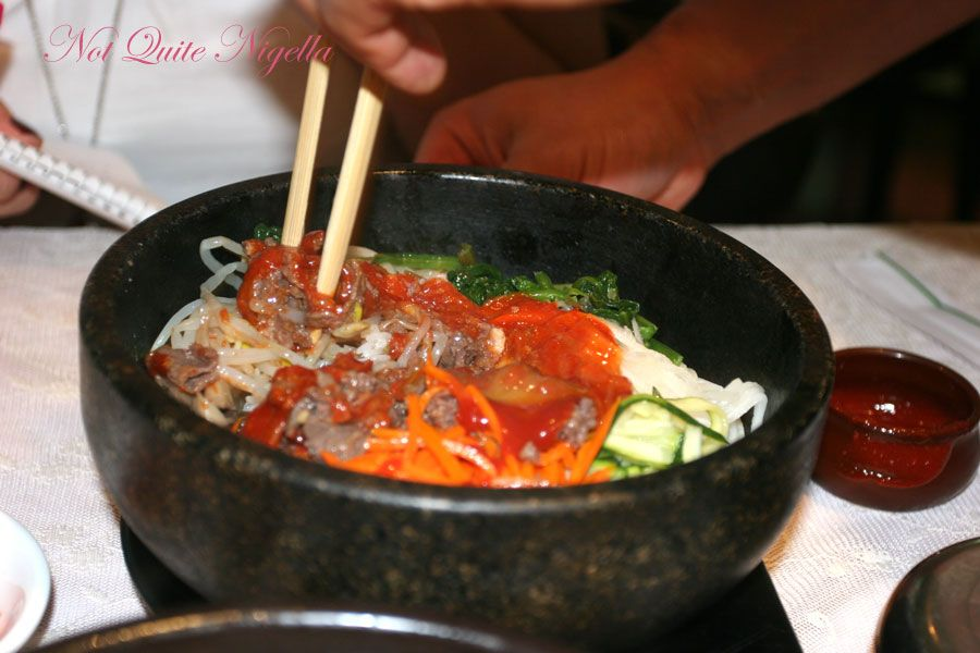 Haemil Korean at Circular Quay Dolsot Bibimbab