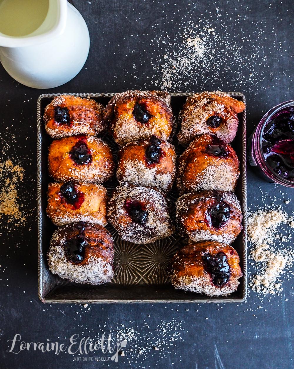 Halloumi Donuts Doughnuts