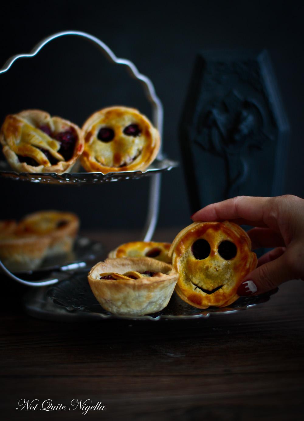 Halloween Blackberry Pies Jack Skellington Thing
