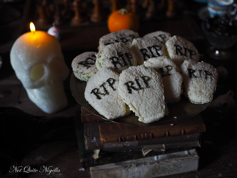 Halloween Dinner Party Afternoon Tea Recipes
