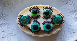 Halloween Eyeball Panna Cotta