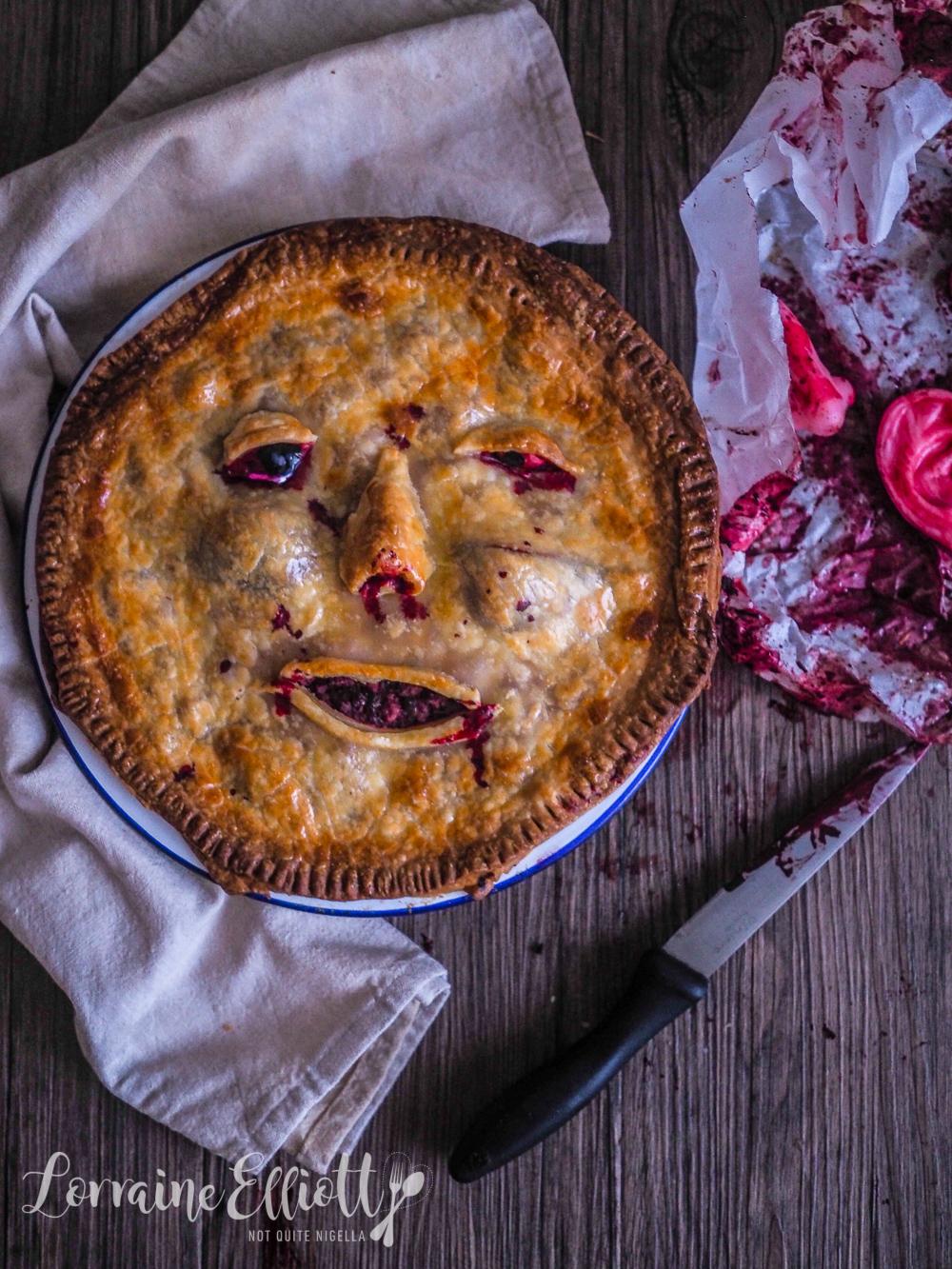Halloween Face Pies