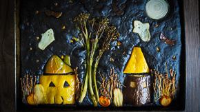 SPOOKY & EASY Halloween Focaccia!