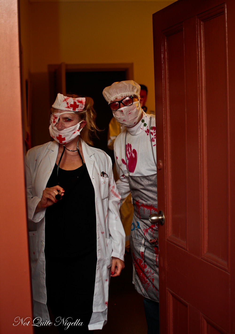 Halloween Hospital Themed Party
