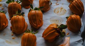 Pumpkin Patch Strawberries