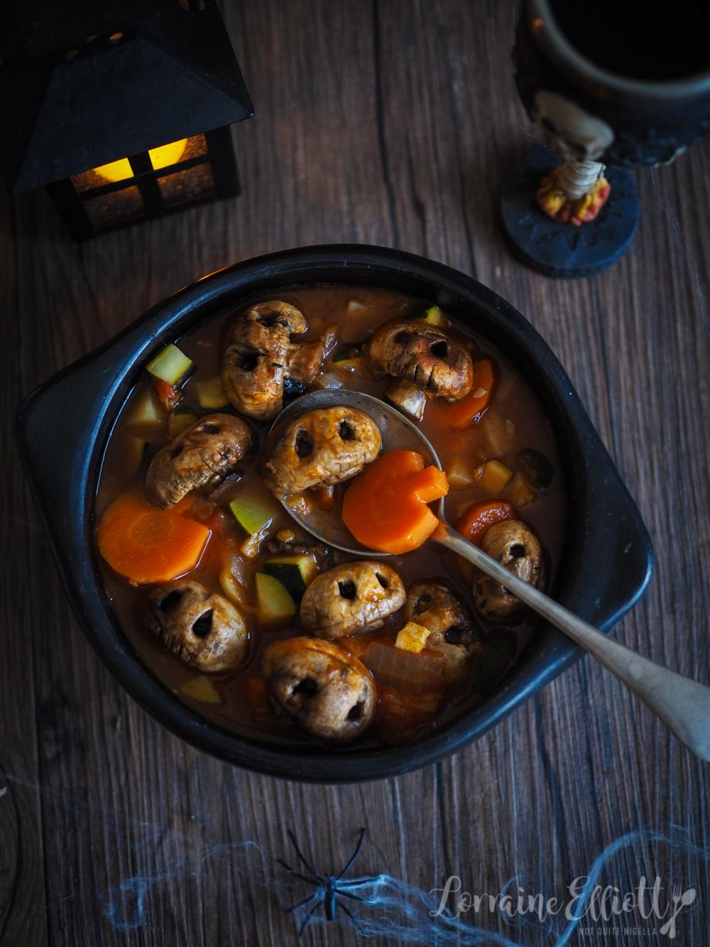 Halloween Recipe Skull Soup