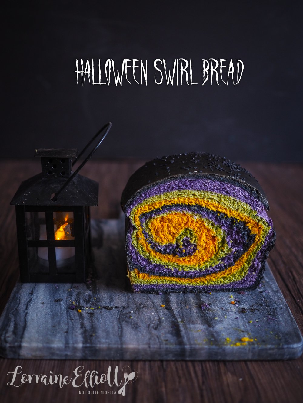 Halloween Bread recipe
