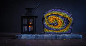 Hallowe'en Scream Swirl Bread!