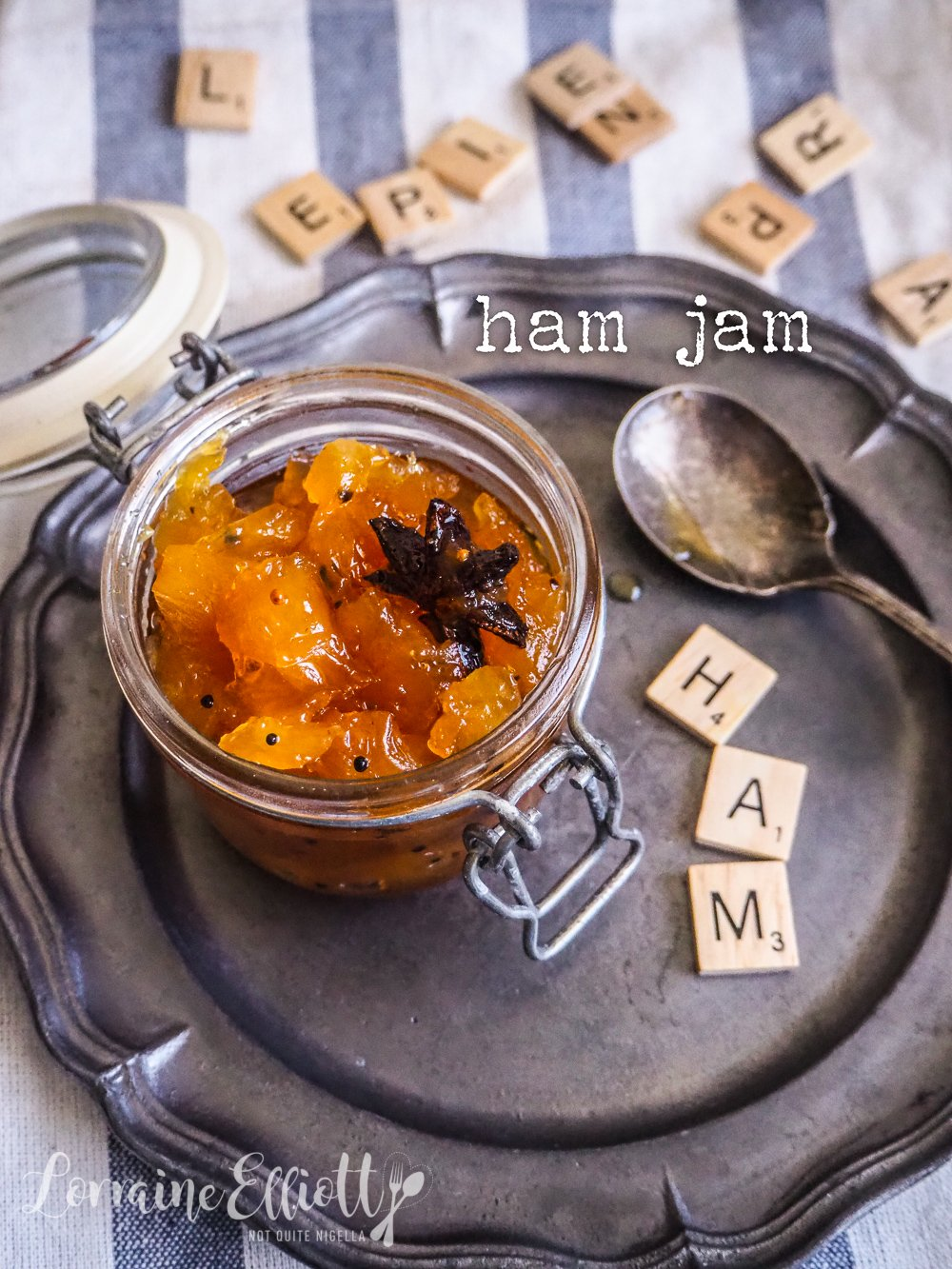 Ham Pork Jam condiment recipe