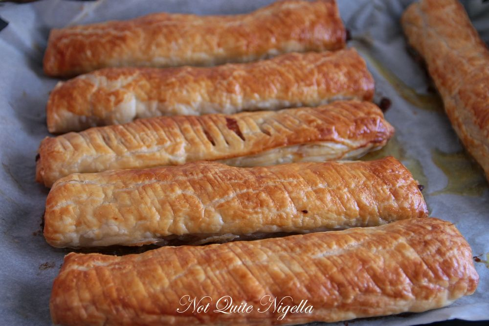 cheese vegemite sausage rolls