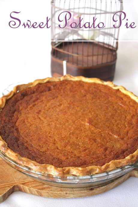 Happy Thanksgiving with a Sweet Potato Pie