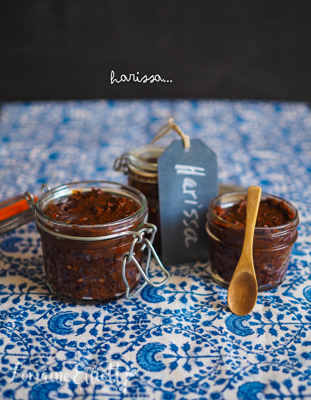 Harissa Paste recipe