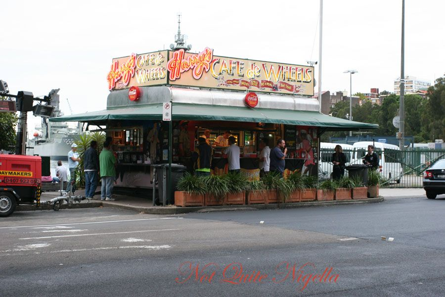 Harry's Cafe de Wheels at Wooloomooloo