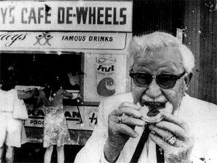 Harry's Cafe de Wheels at Woolloomooloo Colonel Sanders