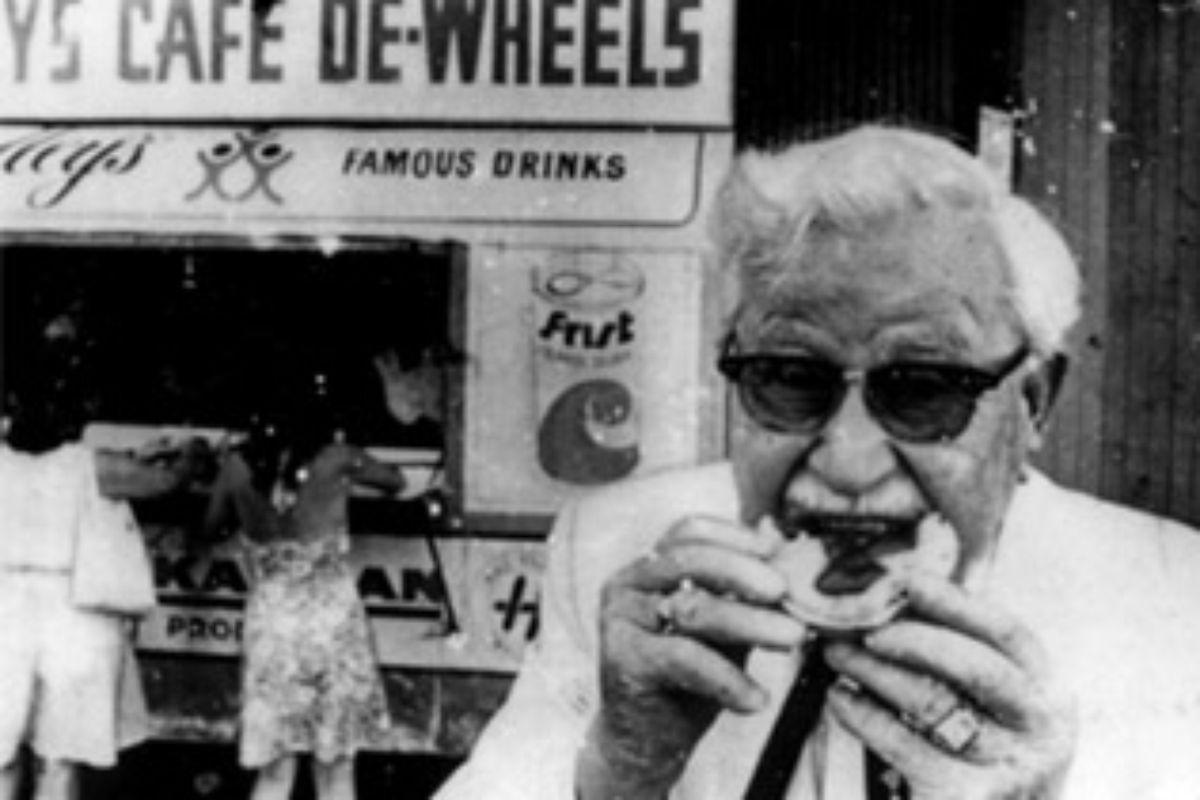 Colonel Sanders Cafe Menu