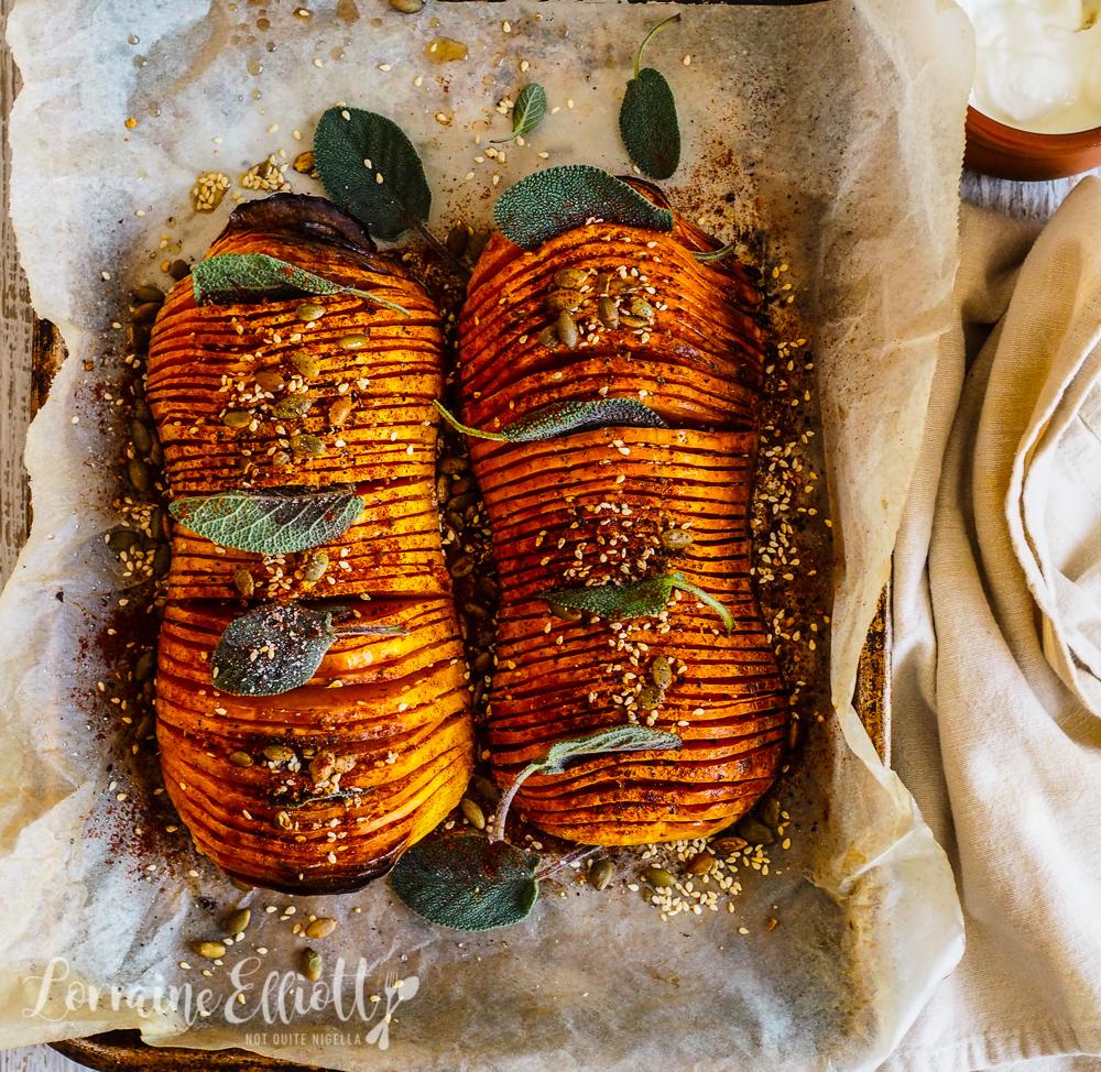Hasselback Pumpkin recipe
