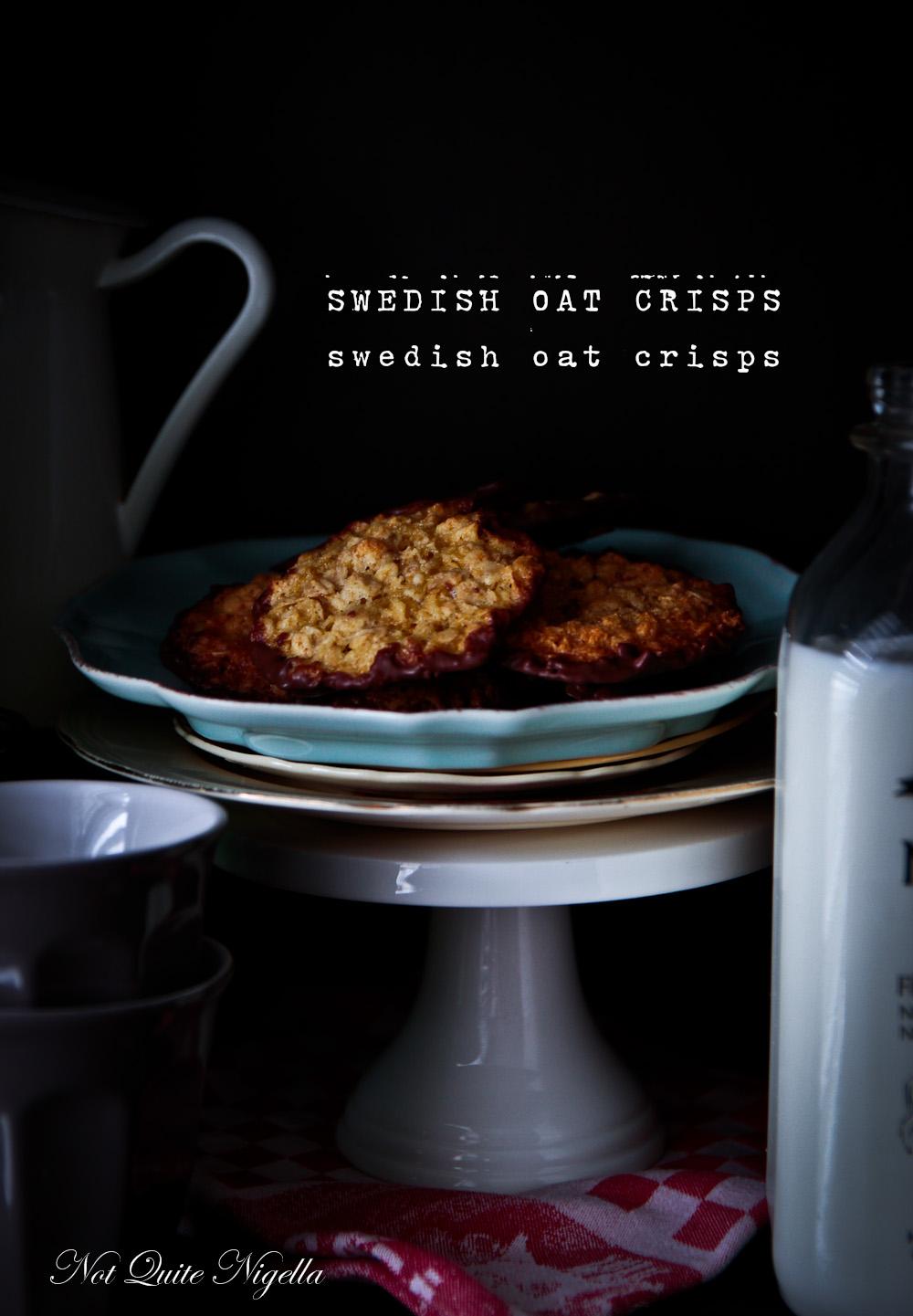 Swedish Oat Crisps