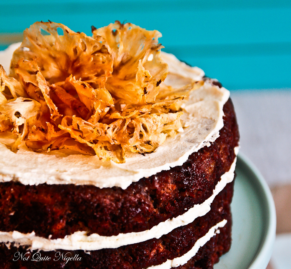 Hawaiian Carrot Cake
