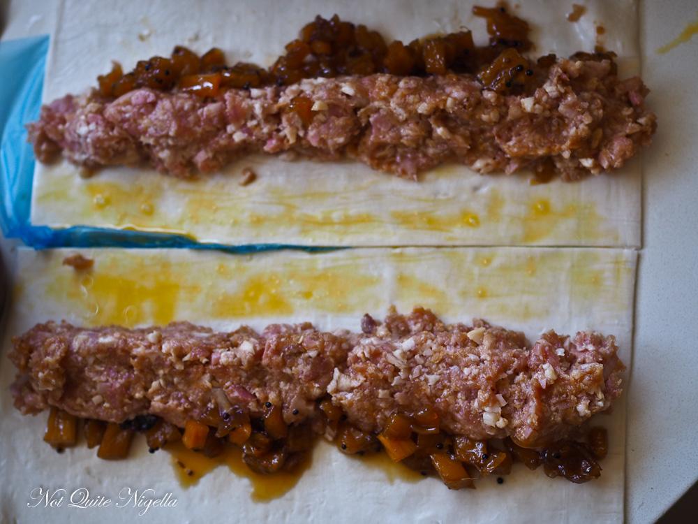 Hawaiian Sausage Rolls