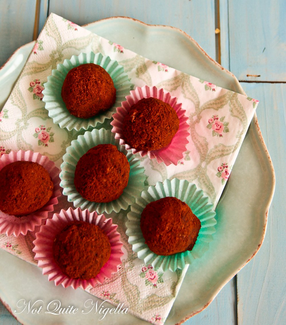 Chocolate Hazelnut Healthy Truffle Balls