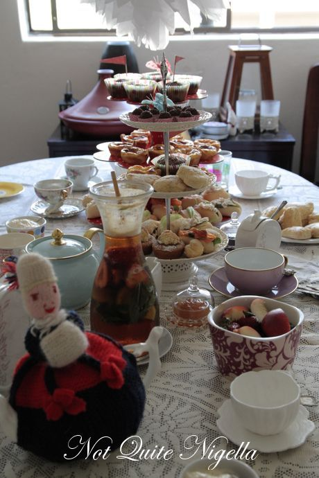 healthy afternoon tea